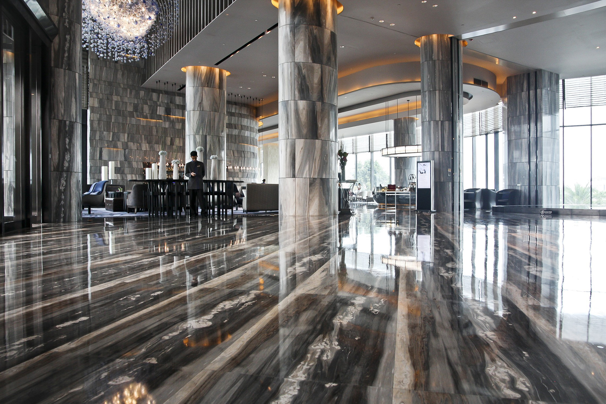 Gruppo Tosco Marmi Hilton Shenzhen 1